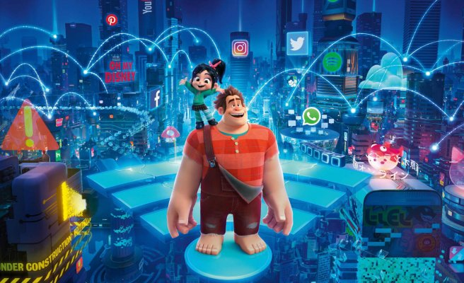 Ralph Breaks the Internet 2 Courtesy of Disney.com