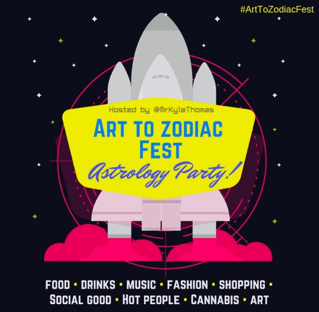 Art to Zodiac Fest Los Angeles May 11 2019