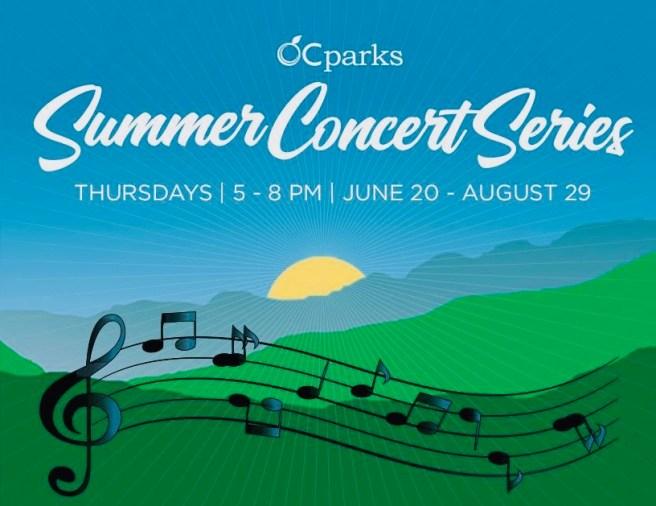 Orange County Parks Summer Concerts 2019