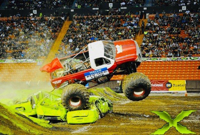 Monster X Tour at OC Fair July 2019 Courtesy of MonsterTruckTour.com