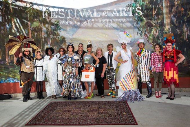 Laguna Beach Festival of the Arts Fashion Show 2019 Courtesy of foapom.com