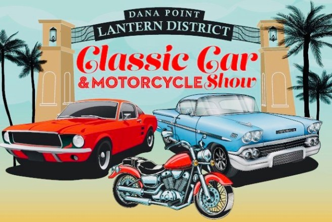 Dana Point Lantern District Car & Motorcycle Show September 22 2019