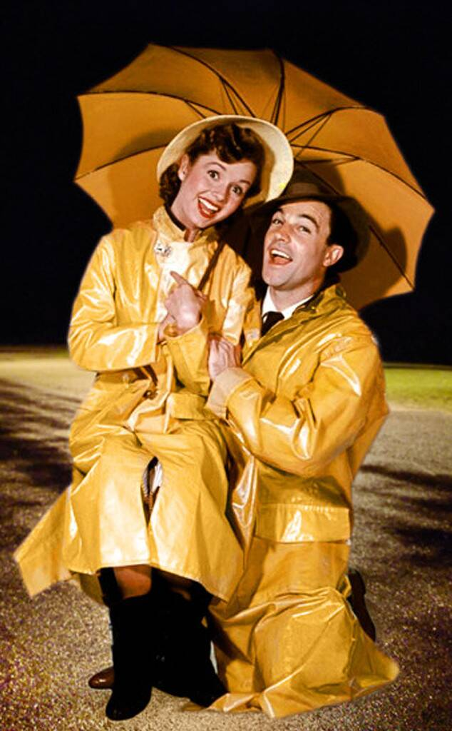 Debbie Reynolds and Gene Kelly in Singing in the Rain Courtesy of MGM.com
