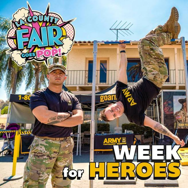 LA County Fair Heroes Week September 4 2019 Thru September 8 2019