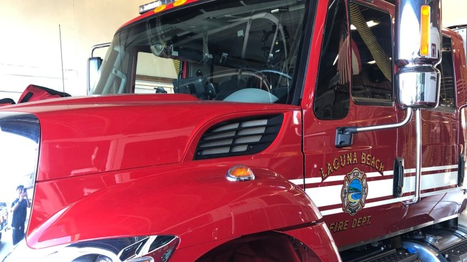 Laguna Beach Fire Truck Courtesy of City Of Laguna Beach