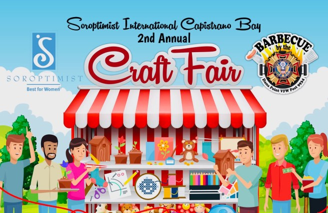 Dana Point Soroptimist Craft Fair Saturday October 26 2019