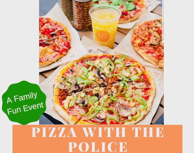 San Clemente Pizza with Police Tuesday November 12 2019