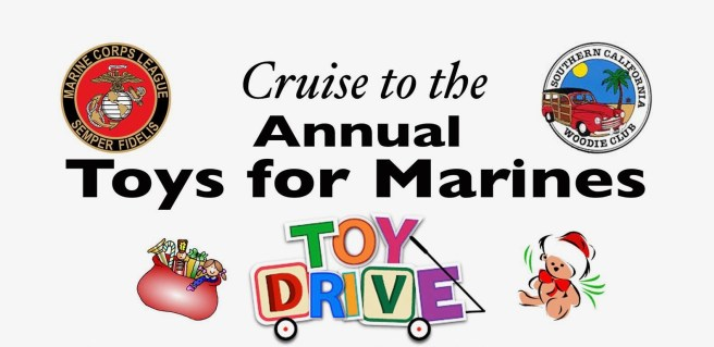 San Clemente Cars & Coffee Marine Toy Drive Saturday December 14 2019