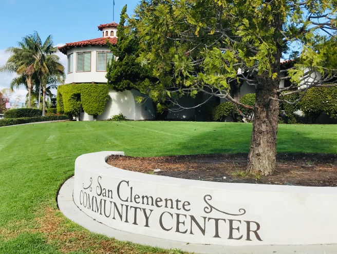 San Clemente Community Center Courtesy of SouthOCBeaches.com