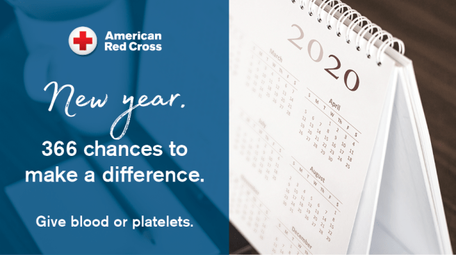 American Red Cross New Year 2020 PSA
