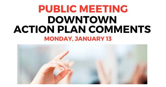 Laguna Beach Downtown Action Plan Public Meeting Monday January 13 2020
