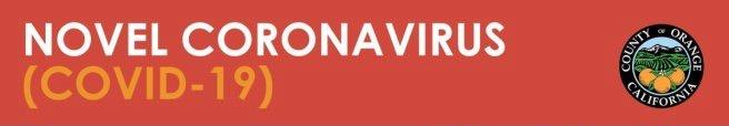 County of Orange California Novel CoronaVirus-19 Logo