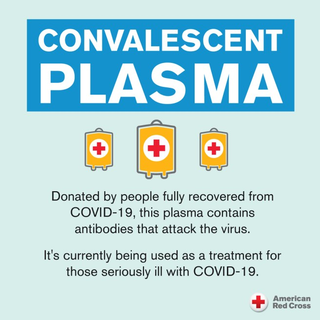 American Red Cross COVID-19 Recovered Patients Blood Plasma Donations PSA