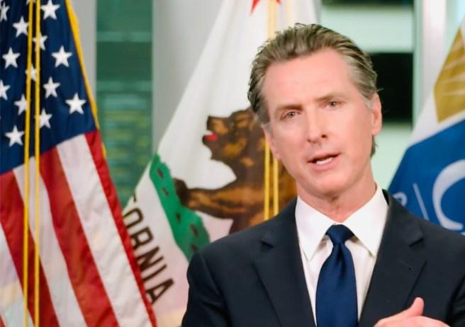 California Governor Gavin Newsom June 24 2020 of Facebook Live