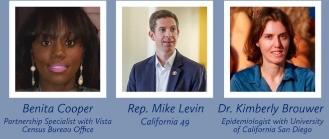 Congressman Mike Levin COVID19 Virtual Town Hall August 5 2020