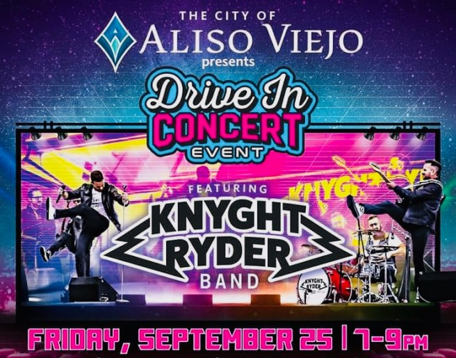 Aliso Viejo Drive In Concert September 25 2020