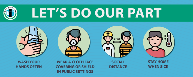 COVID-19 Wear A Mask PSA From City of Irvine