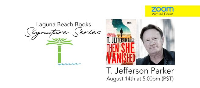 Laguna Beach Books Free Zoom Event with T. Jefferson Parker and Barbara DeMarco Barrett August 14 2020