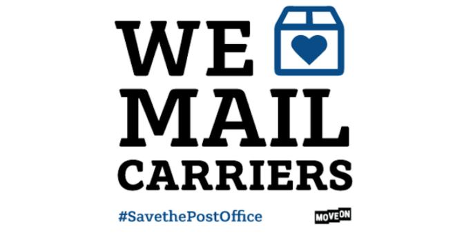 #SavethePostOffice Courtesy of Moveon.org