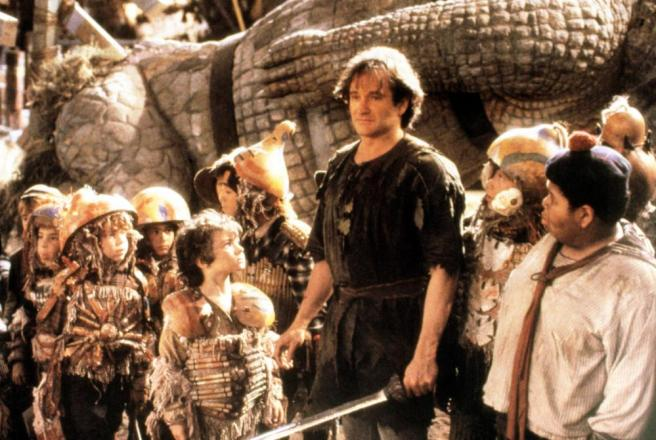 Robin Williams in Hook Courtesy of Tristar Pictures