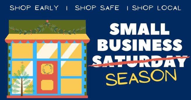 Laguna Beach Small Business Saturday:Season November 28 2020
