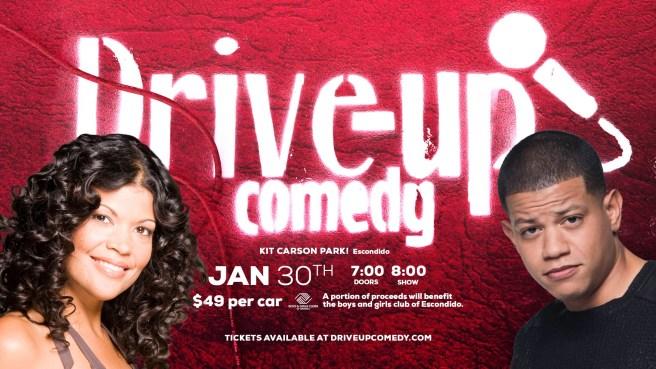 Drive Up Comedy in Escondido California January 30 2021