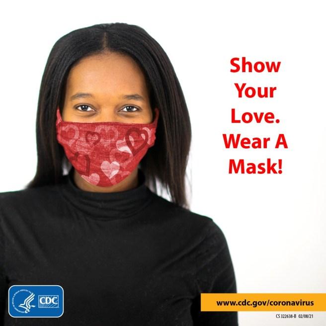 COVID-19 PSA Wear A Mask Courtesy of CDC.gov