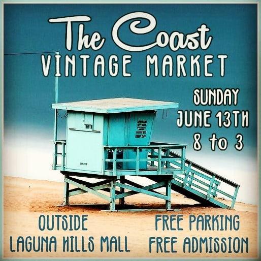Coast Vintage Market June 13 2021
