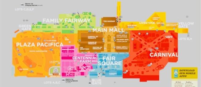 Orange County Fair 2021 Map