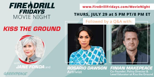 Fire Drill Fridays Movie Night Thursday July 29 2021