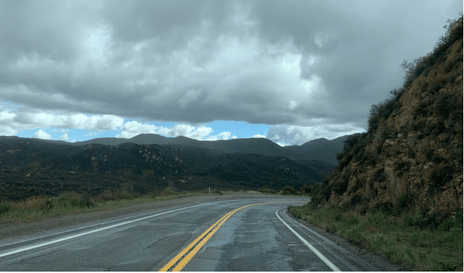 California State Route 74/Ortega Highway Courtesy of CalTrans District 8