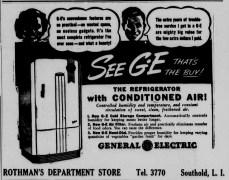 Rothman's ad in Long Island Traveler newspaper, 1940