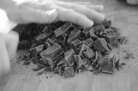 Semi - sweet chocolate chopped.