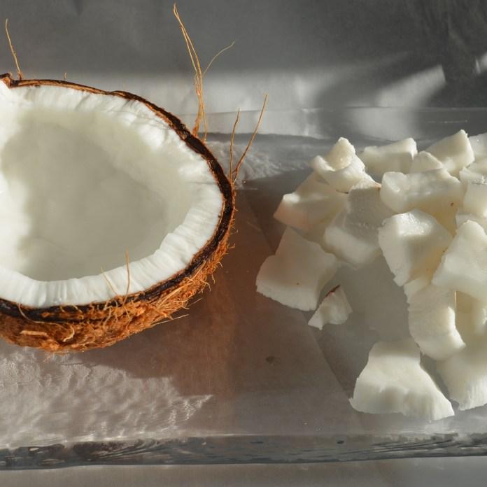 Home made coconut cream