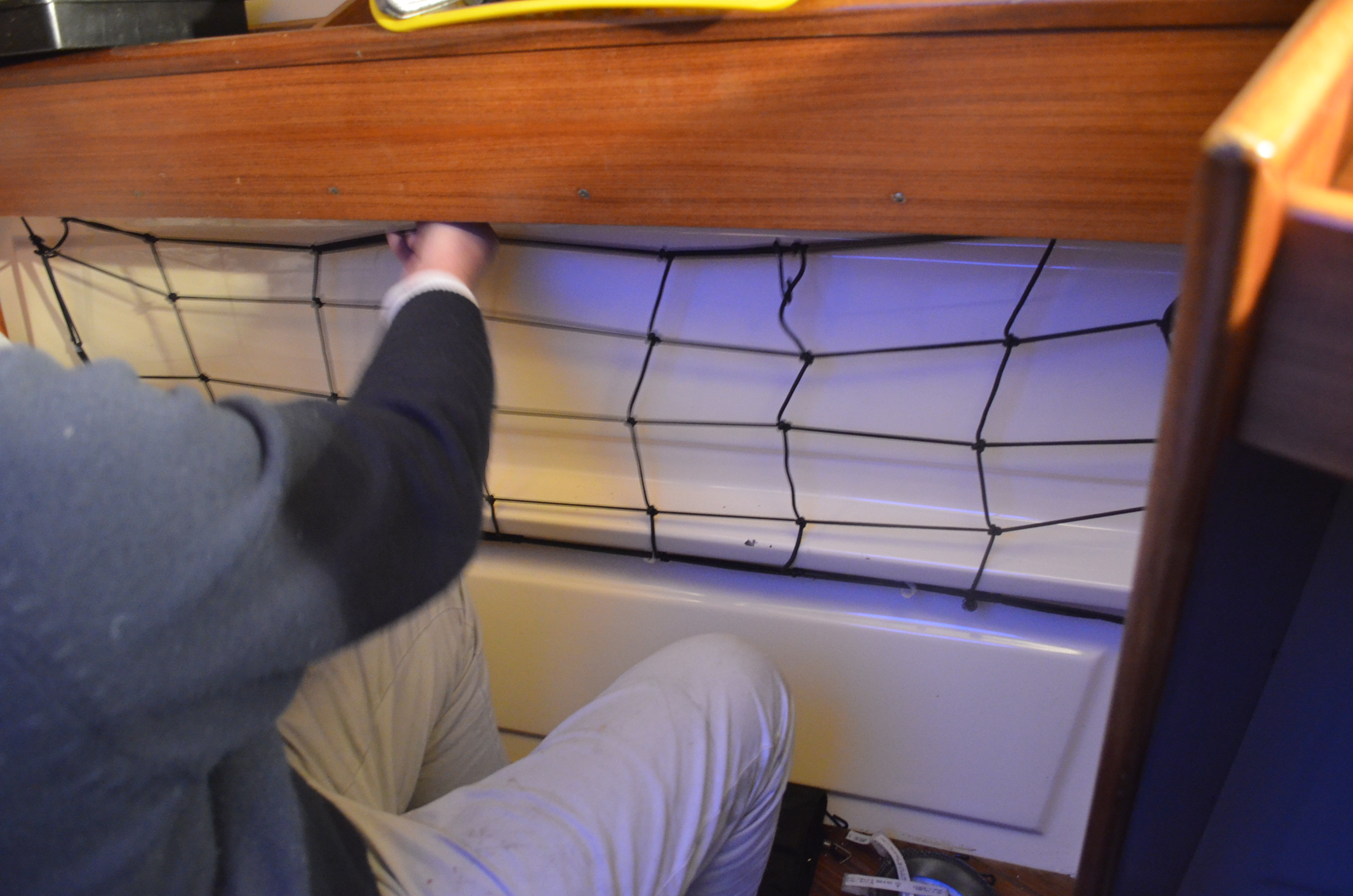 Sailboat refit update for march galley sink water maker for The galley sink price