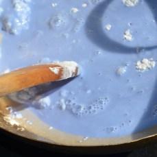 stir to combine ingredient togeter
