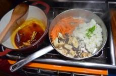 Somebody dislike sushi. Chicken terriyaki sounds simple.