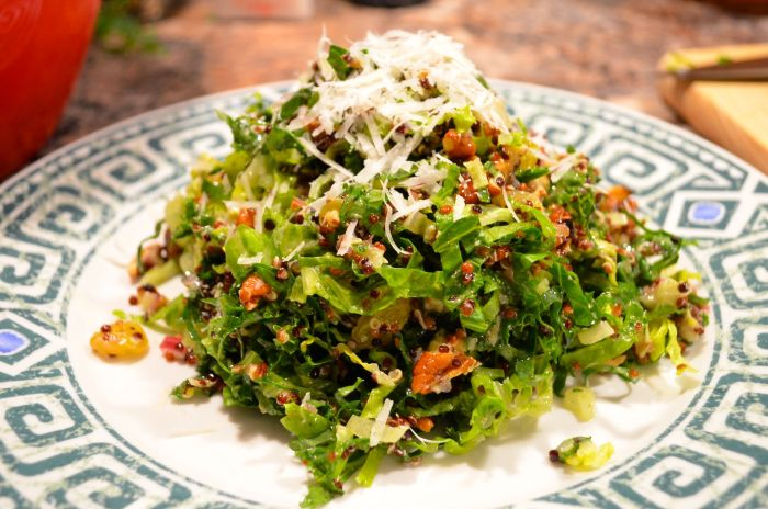 chopped kale salad