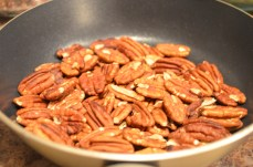 Pecan nut replace for almonds