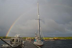 BS under the rainbow