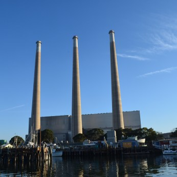 Power Plant at Morro Bay