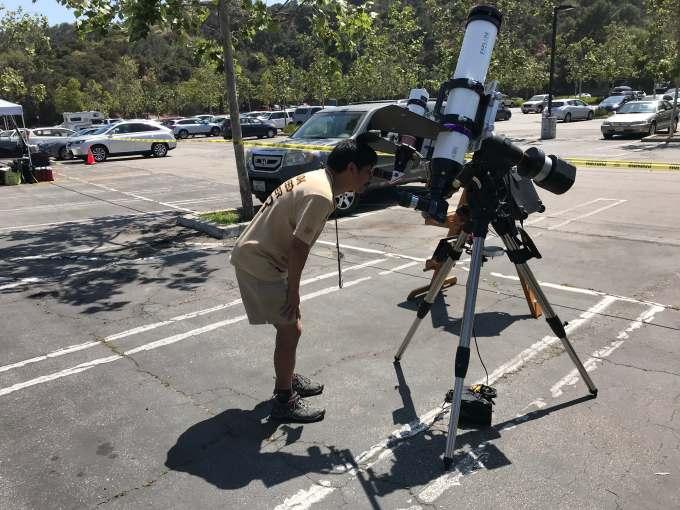13 SunspotViewing telescope
