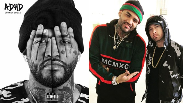 Joyner Lucas reveals tracklist of ADHD & there is no Eminem feature