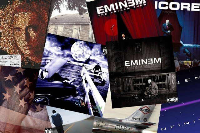 Eminem now has 7 albums with over 1 billion streams each on Spotify, the most of any artist
