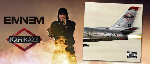 """JUST IN: """"Kamikaze"""" is the only rap album that sold +1 million pure copies worldwide in 2018"""