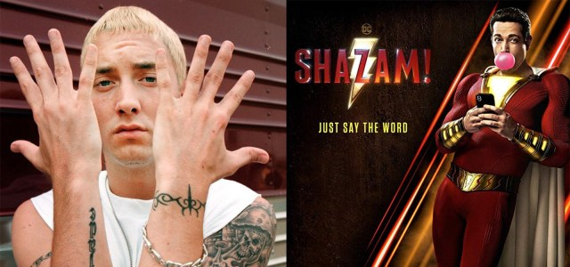 "WATCH: ""Shazam"" new superhero movie trailer features Eminem's ""My Name Is"""