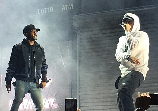 """Big Sean shouts out Eminem in a new song """"Overtime"""""""