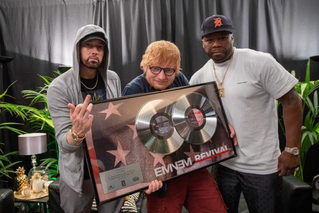 New Interview: 50 Cent talks collaborating with Eminem & Ed Sheeran