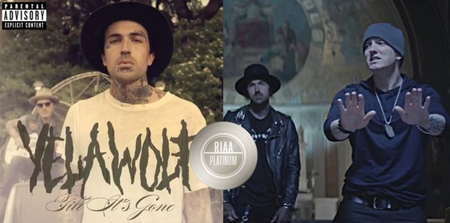 """Yelawolf receives his first ever platinum certifications for """"Best Friend"""" & """"Till It's Gone"""""""
