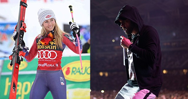 """Mikaela Shiffrin says she listens Eminem's """"Guts Over Fear"""" for gearing up to race"""